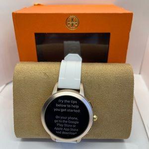 New open Box Tory Burch Rose Gold/White Smart 1001